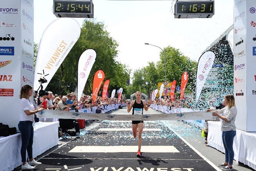 Vivawest Marathon Mai 2019: Anke Esser.