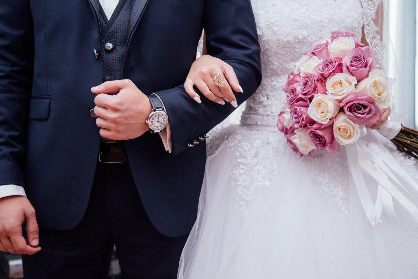 Hochzeits-Symbolbild.