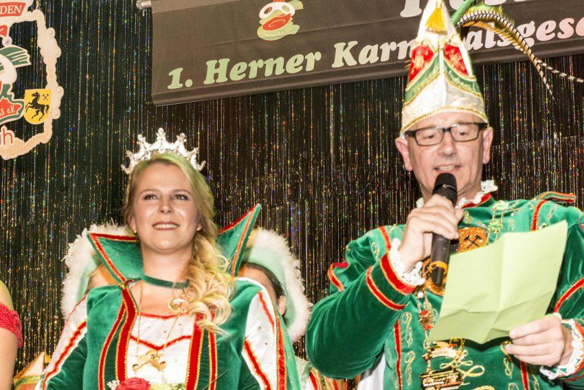 Das Stadtprinzenpaar der HeKaGe: Andreas I. & Jennifer I.