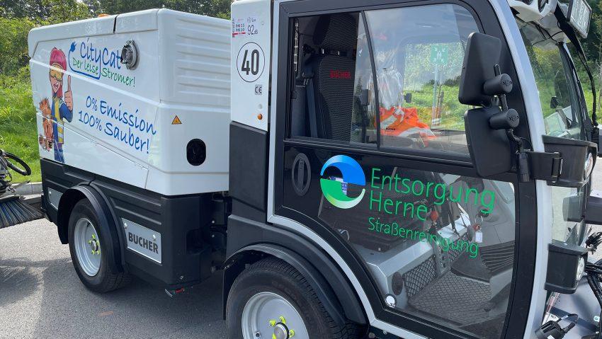 Zwei neue CityCats für Entsorgung Herne