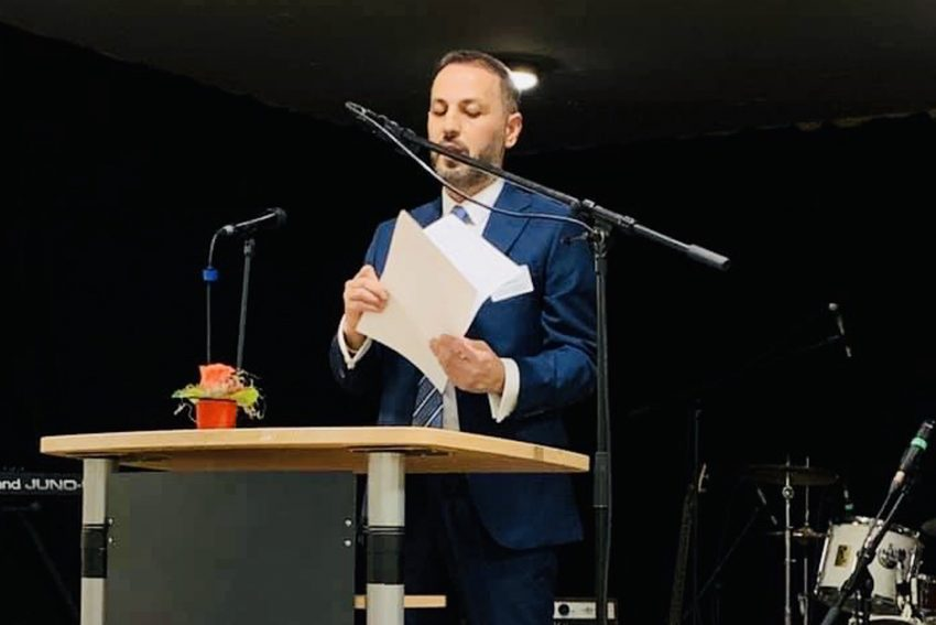 Integrationsrat-Vorsitzender, Muzaffer Oruç.