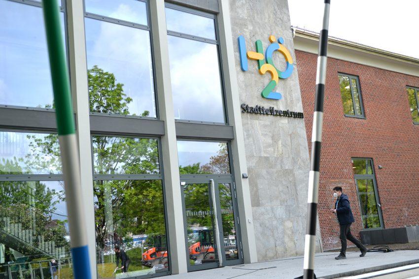 Die neue Heimat des Spielzentrums: das Stadtteilzentrum H2Ö .