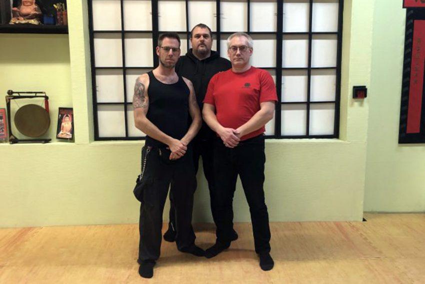 v.l. Kevin Alstede, Marcus Bartsch, Holger Martek.