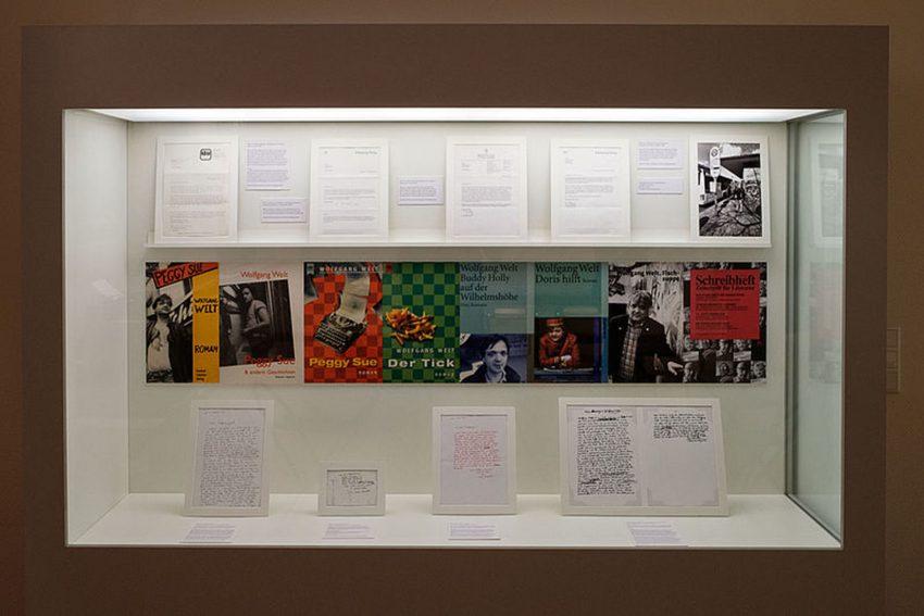 Das Heinrich-Heine-Institut in Düsseldorf zeigt ein ausstellung des Bochumer Schriftsteller und Journalisten Wolfgang Welt.