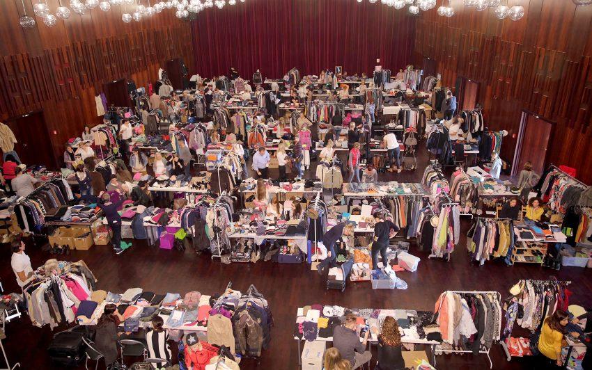 Second-Hand-Modemarkt für Frauen.