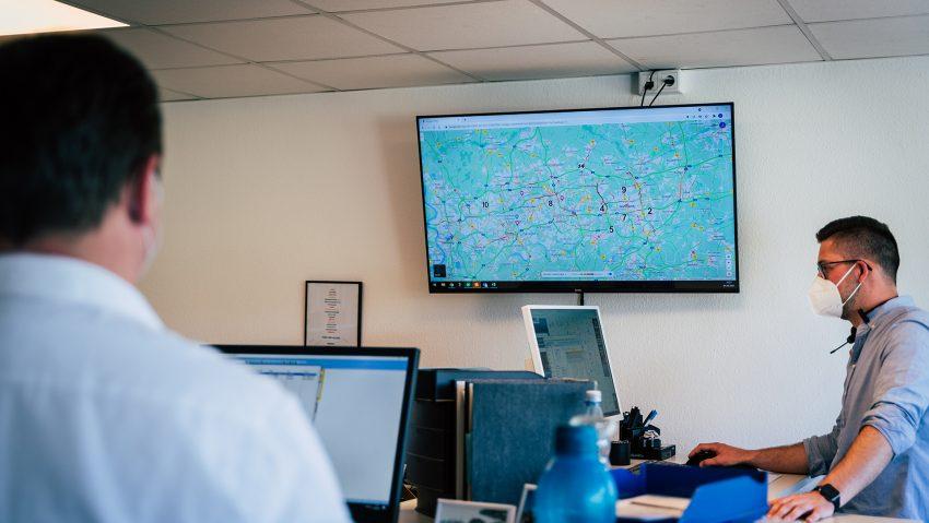 Reifen Stiebling präsentiert seine neue Mobilservice-Zentrale in Castrop-Rauxel.