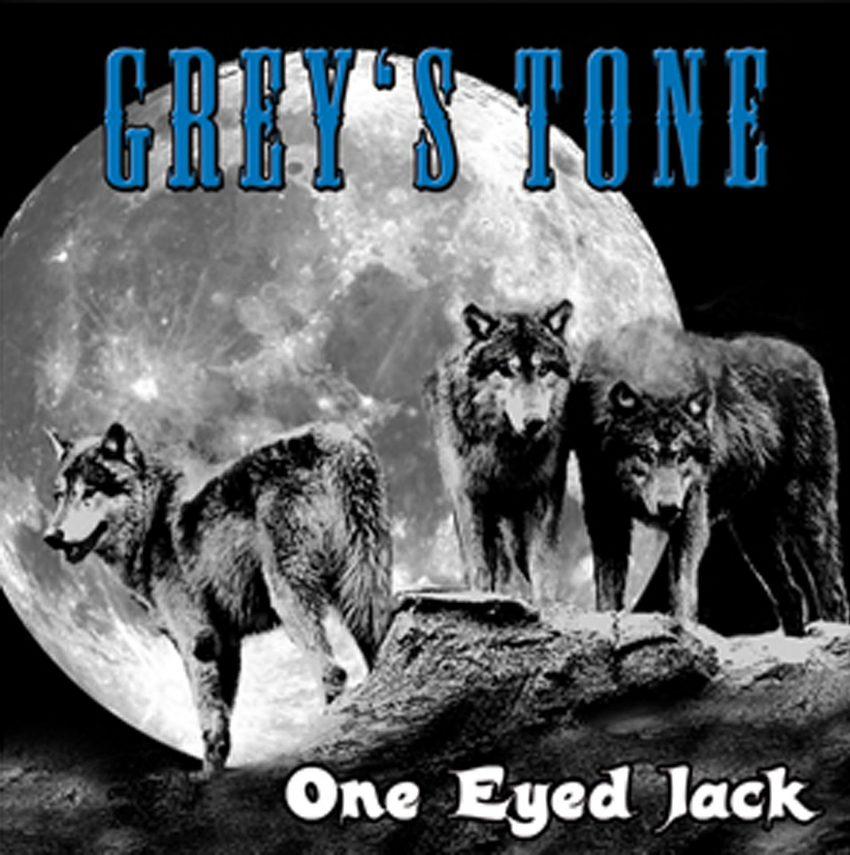 Die erste CD von Grey's Tone - One Eyed Jack.