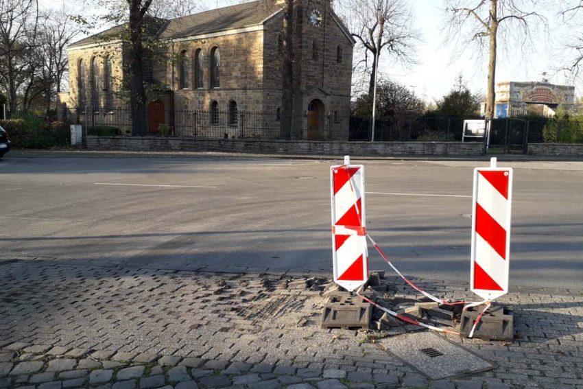 Cranger Kirmes Platz.