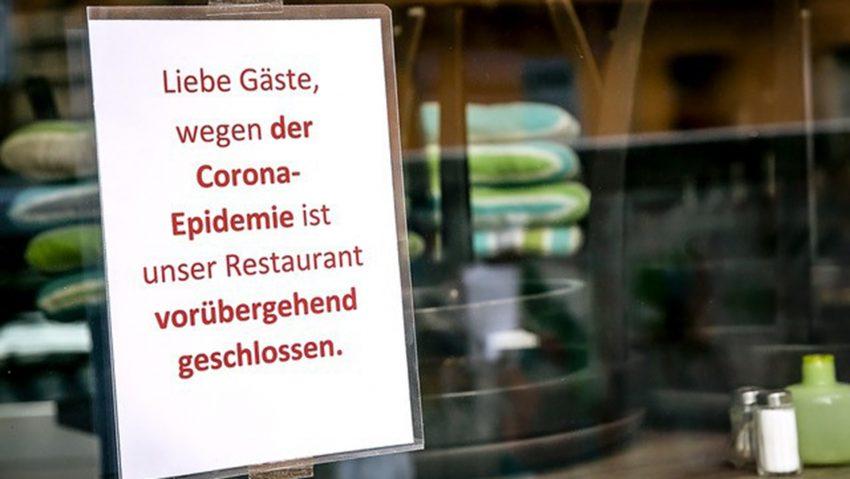 Wegen Corona geschlossen: Restaurants, Gaststätten und Hotels sind seit Wochen zu.