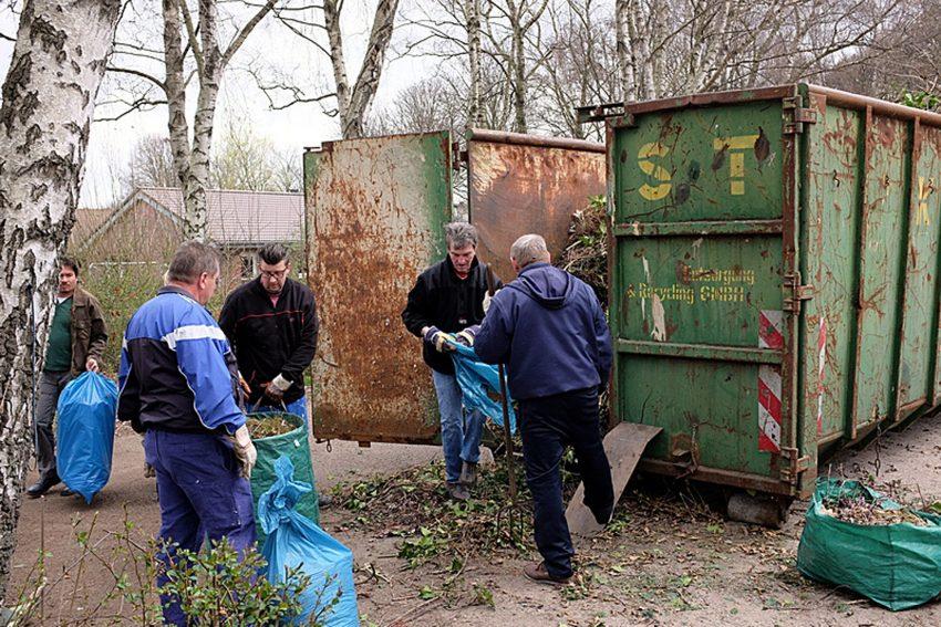 Gartenabfall-Aktion von Entsorgung Herne.