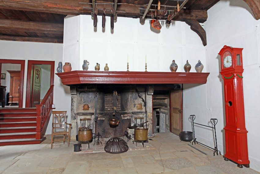 Im Münsterländer Gräftenhof.