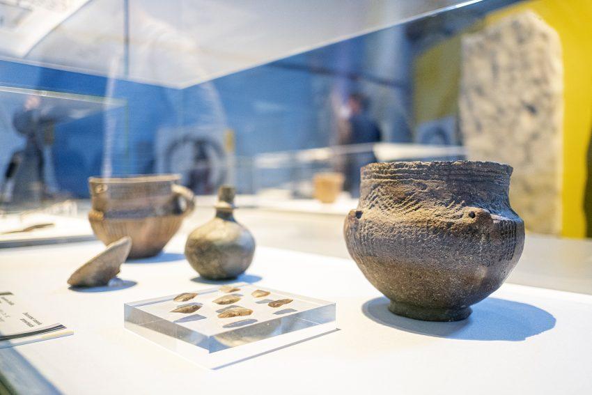 Das Westfälische Archäologiemuseum in Herne (NW) zeigt die Ausstellung