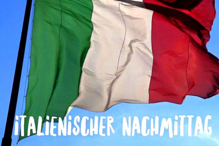 Italienische Flagge.