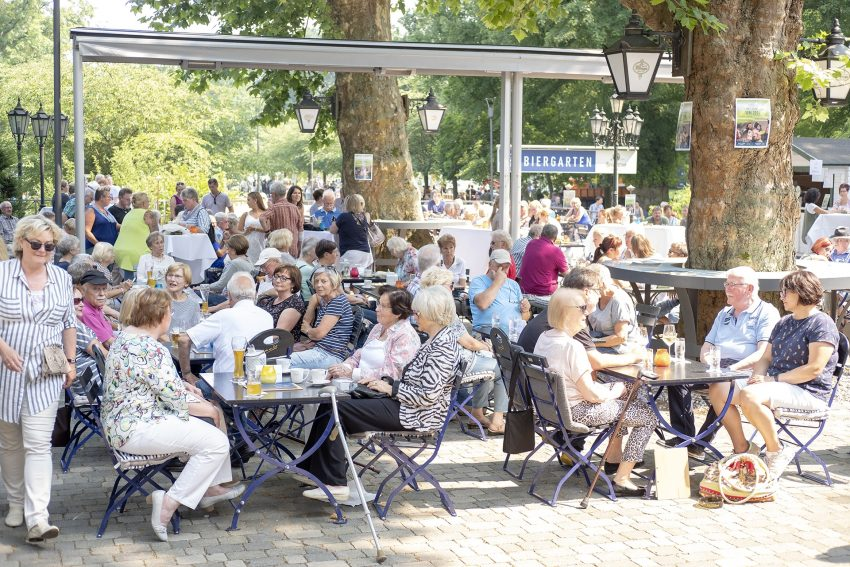 Biergarten Parkrestaurant.