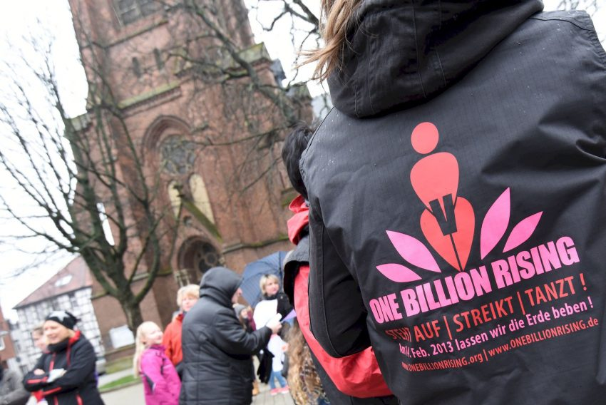 One Billion Rising auf dem Europaplatz