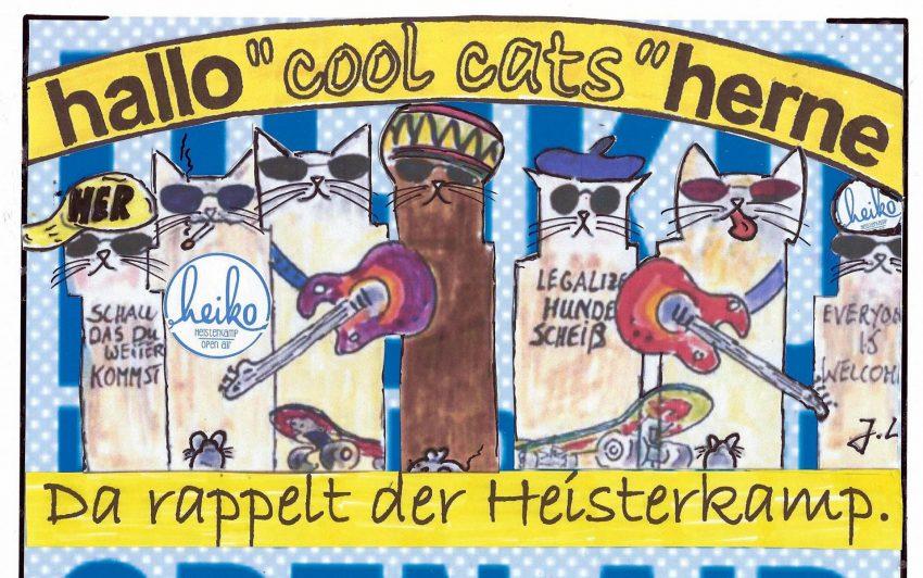 Die cool cats rocken mit HEIKO.