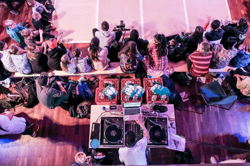Hip Yo Festival in der AULA.