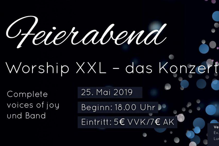 Feierabend Worship Konzert.