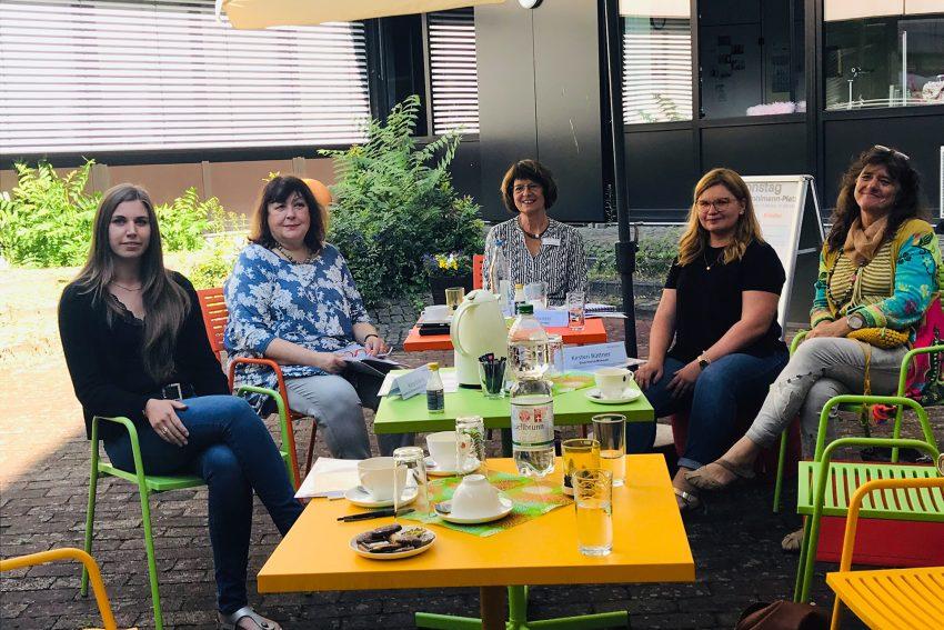 v.l. Alina Gränitz, Heike Bandholz, Ingrid von der Weppen, Julia Kehl und Kirsten Büttner.