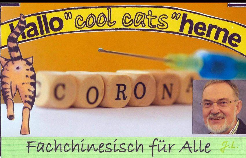 Die Cool Cats zum Corona-Impf-Lexikon.