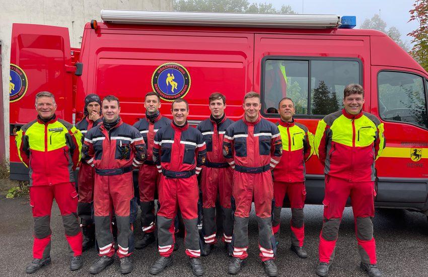 Fünf neue Höhenretter sind nun bei der Feuerwehr Herne im Einsatz.
