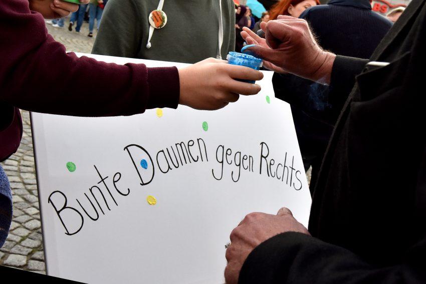 Demo des Bündnis Herne am 17.09.2019 auf dem Robert-Brauner-Platz