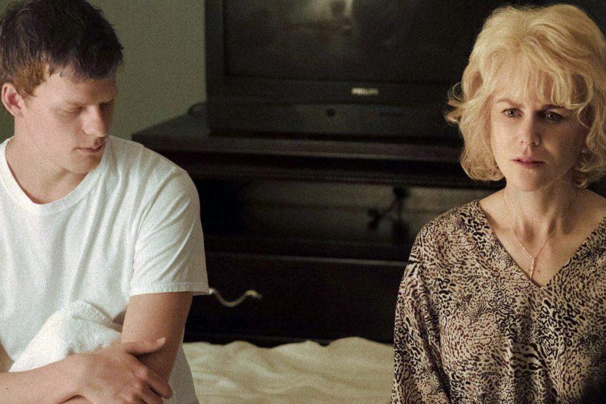 Lucas Hedges und Nicole Kidman.