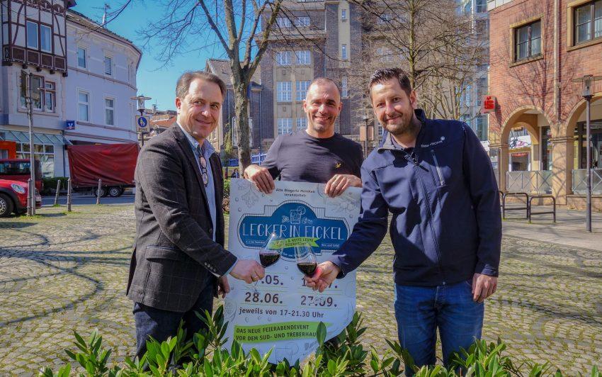 v.l. Holger Wennrich, Peter Meinken, Kai Weyers.