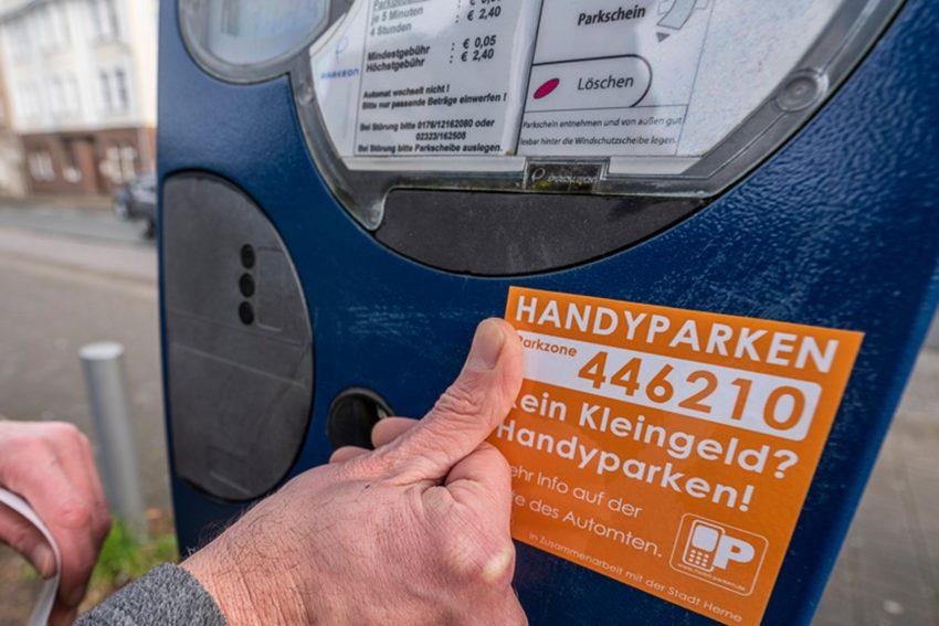 Ab sofort kann in Herne die Parkgebühr per App geregelt werden.