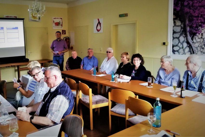 Vortrag beim Sozialverband Deutschland.