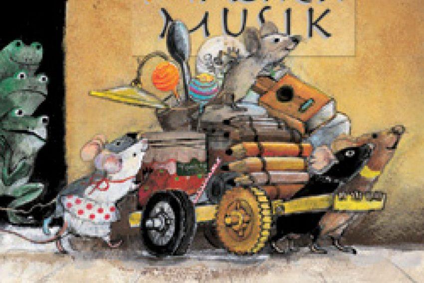 5 freche Mäuse...