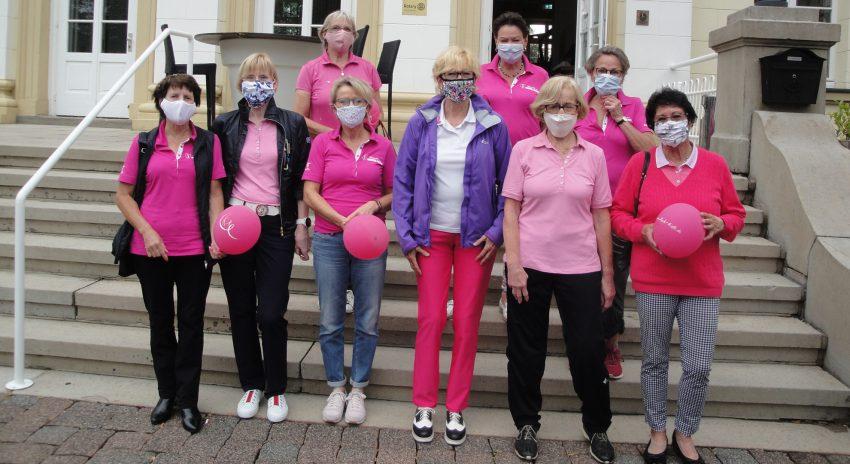 Golfen für Pink Ribbon Deutschland.