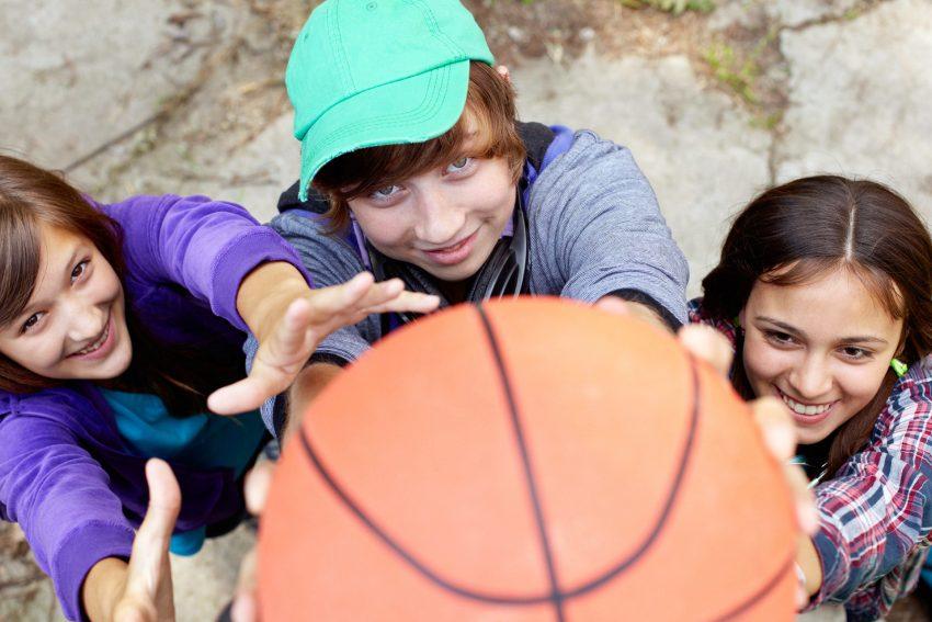 Streetbasketball. NUR AOK