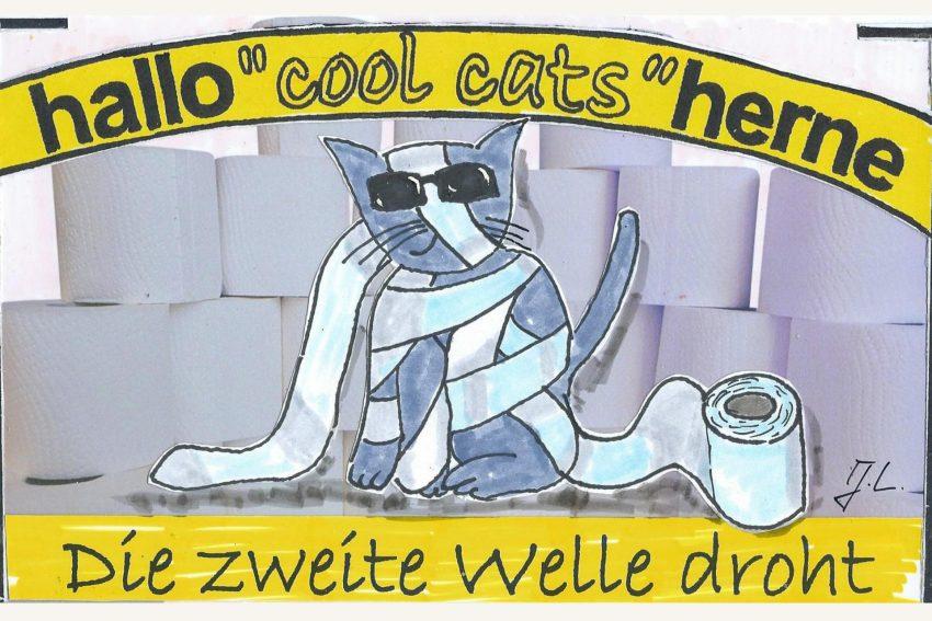 Unsere Cool Cats sind auf jeden Fall vorbereitet.