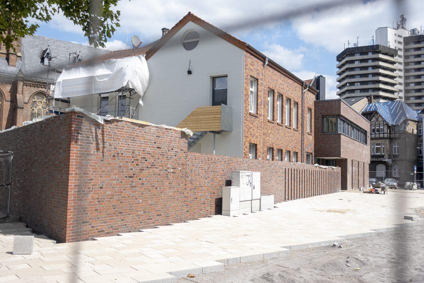 Der Neubau des evangelischen Gemeindezentrums