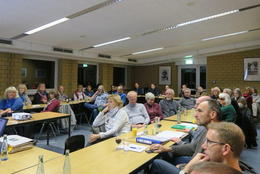 Jahreshauptversammlung 2018 der Lehrer Gewerkschaft (2018) in der EFG.