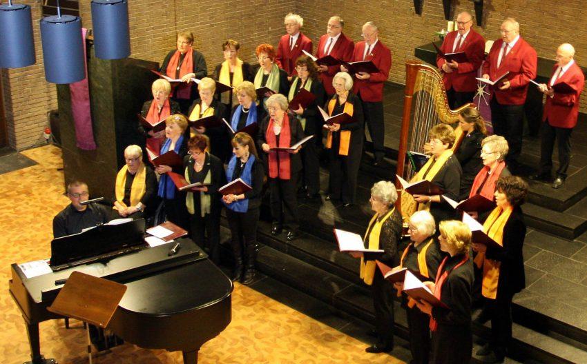 Die Chorgemeinschaft Concordia.