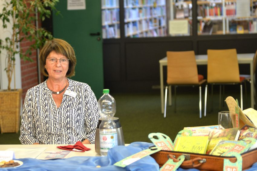 Vorstellung des SommerLeseClubs 2020. Ingrid von der Weppen, Leiterin der Stadtbibliothek.