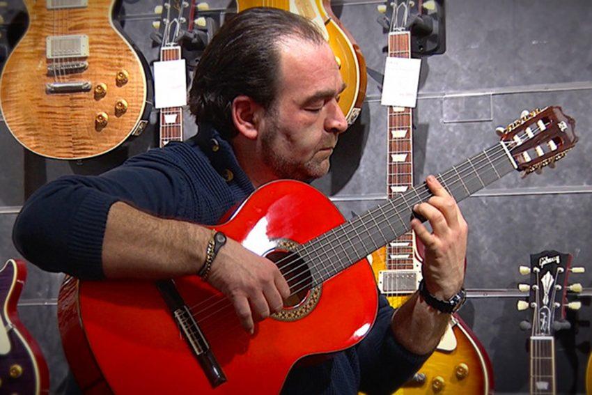 Flamenco-Gitarrist Rafael Cortes.