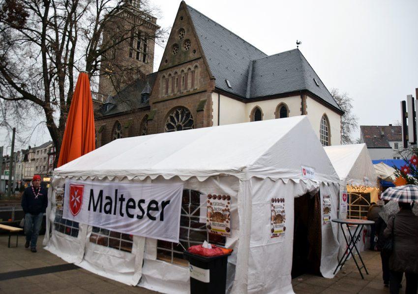 Auf dem Adventsmarkt des Lions Clubs Herne-Emschertal in Eickel.