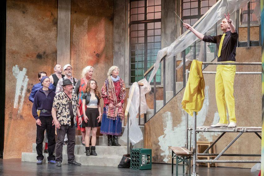 Der Chor von Wattenhausen freut sich auf viele theaterbegeisterte Gäste.