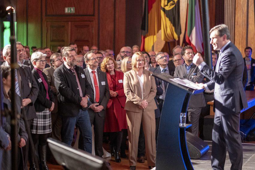 Neujahrsempfang von Oberbürgermeister Dr. Frank Dudda im Rathaus von Herne (NW), am Montag (07.01.2019).