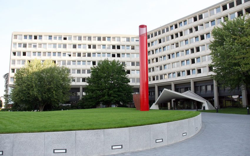 Die Deutsche Rentenversicherung in Münster.