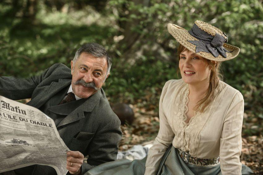 Kinofilm-Intrige: Pauline Monnier (Emmanuelle Seigner) mit ihrem Ehemann Philippe (Luca Barbareschi).