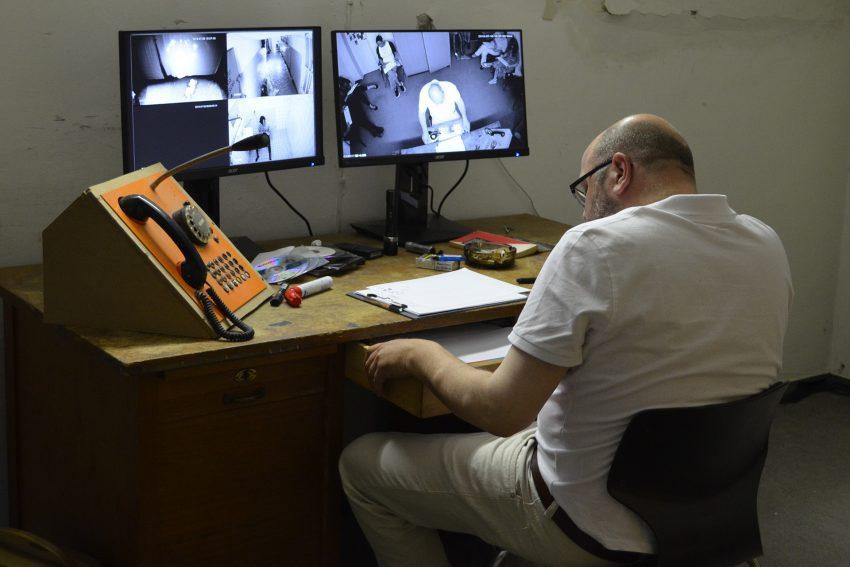 Monitoring: Matthias Hecht hat den Überblick.