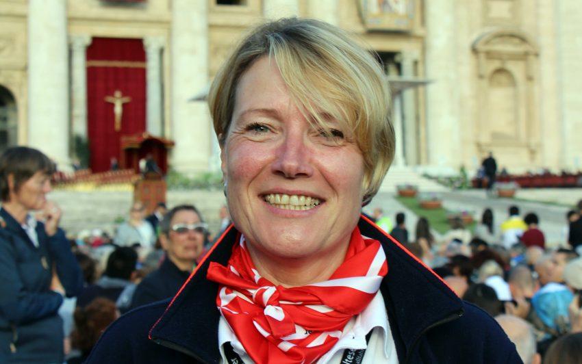 Malteser Helferin Claudia Quaas aus Dortmund.