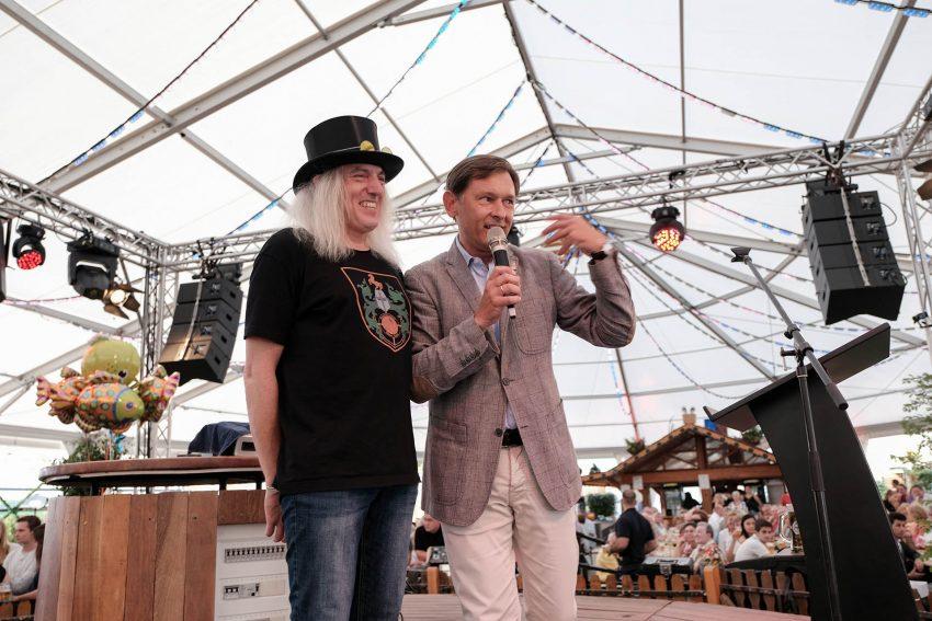 Ehrennadel für Graf Hotte - Horst Schröder.