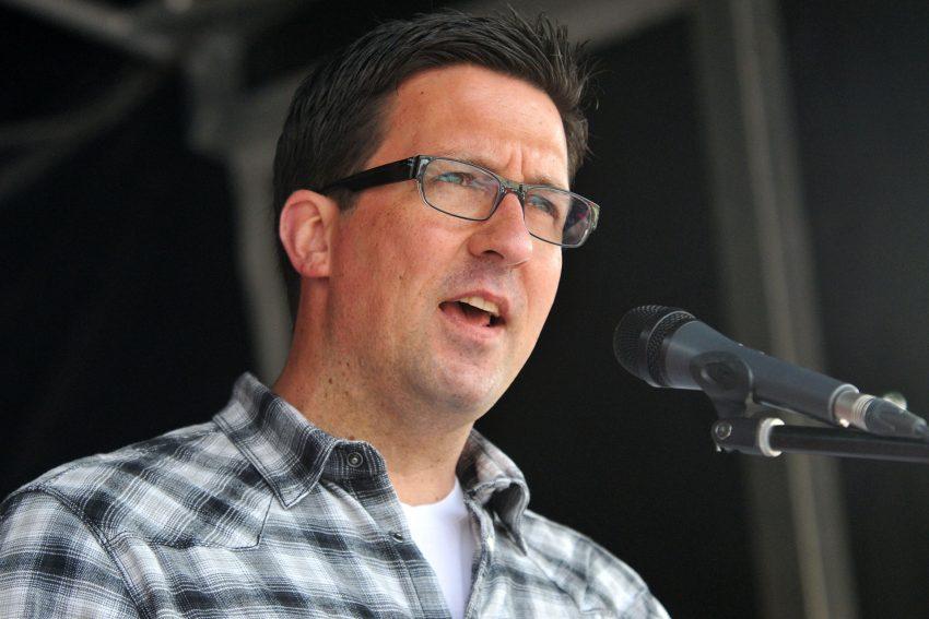 Eric Lobach, Vorsitzender des DGB-Stadtverbandes Herne.