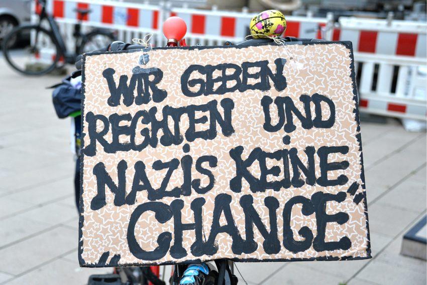 Nazis keine Chance geben - in Herne und nicht anderswo. Foto: Carola Quickels