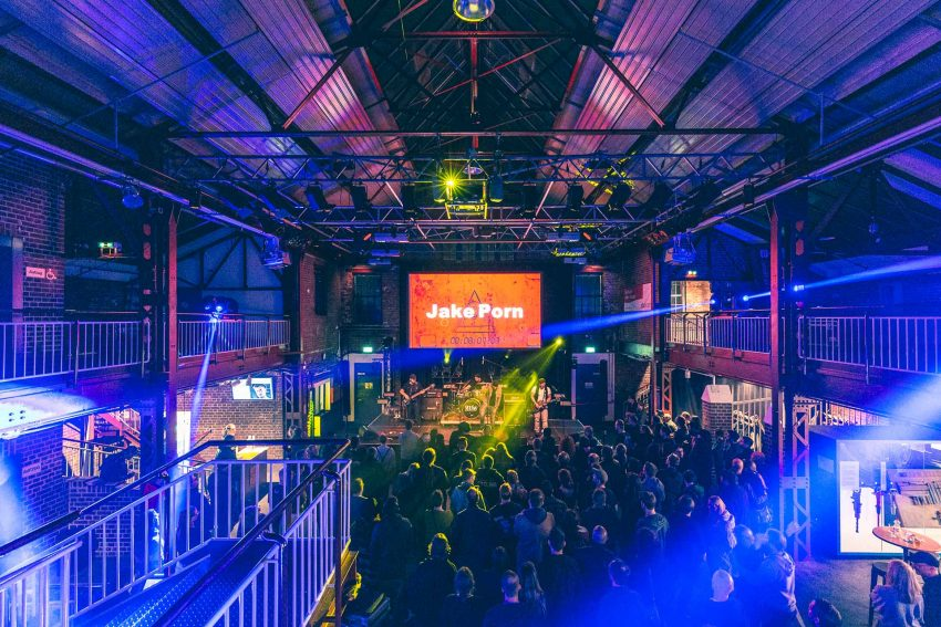 Jake Porn - Bandfusion Royal in den Flottmannhallen. 25.1.2020